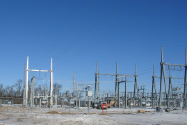 Aurora's new substation nears completion