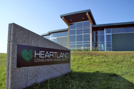 Heartland credit rating increased, savings realized from bond refunding
