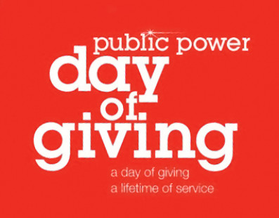 Volunteer in your community for Public Power Day of Giving