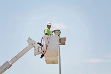 Customers upgrade lighting, earn grants