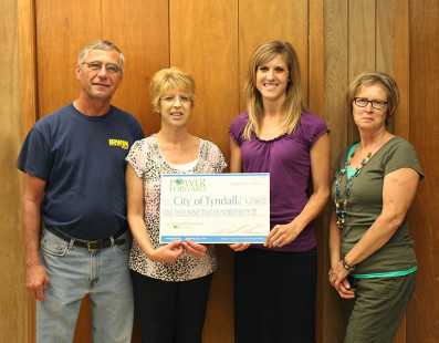 Tyndall upgrading street lights, receives grant