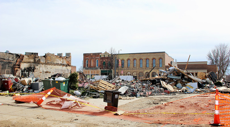 Madelia recovery efforts continue after Main Street fire