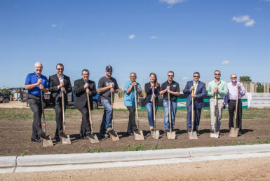 Interstate Batteries breaks ground in Arlington's Industrial Park